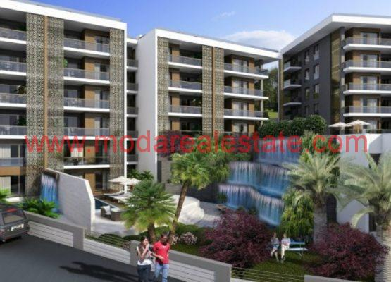 New Project with sea view in kusadasi apartments Payment plan