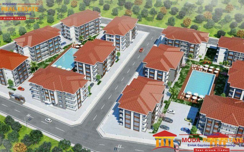 New seaview project in Kusadasi New seaview project in Kusadasi city centrecity centre