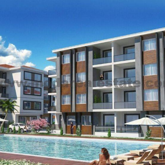 New project with panoramic sea views Kusadasi