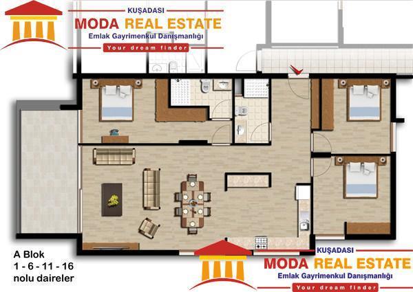 Kusadasi Apartments Projects