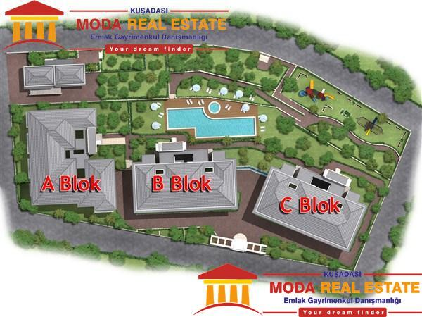 Kusadasi off plan Apartments Projects