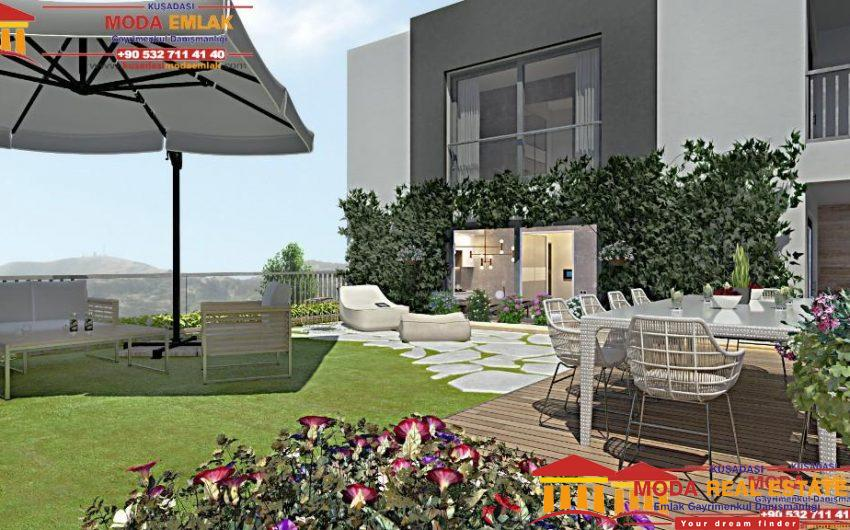 New development of apartments in Kusadasi Center