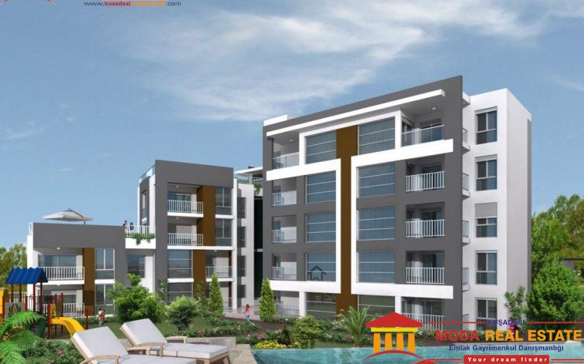 New development of apartments in Kusadasi CenterNew development of apartments in Kusadasi Center