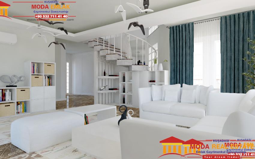 Bera Garden Villas livingroom